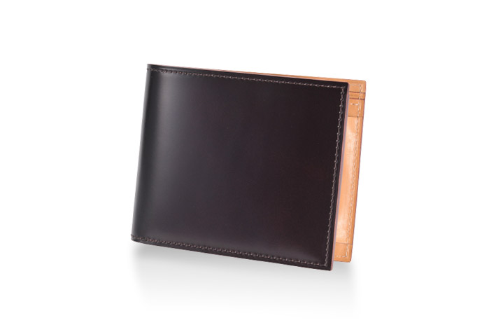 GANZO,2つ折り財布,コードバン
