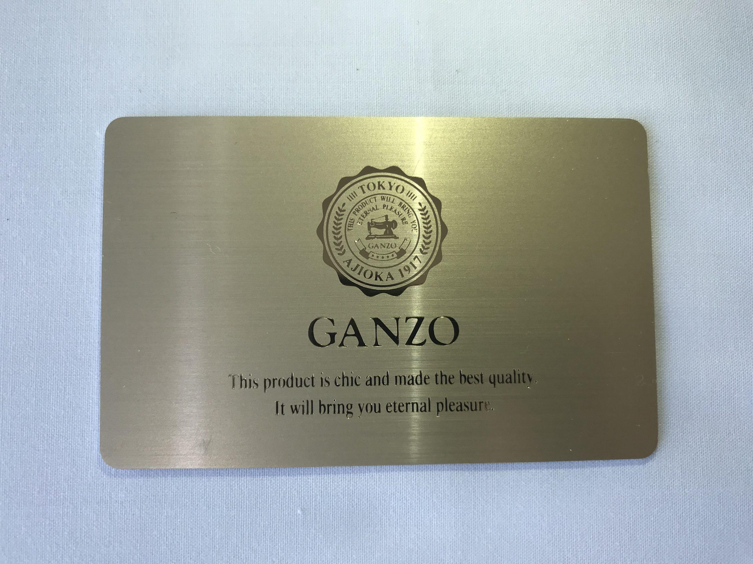 GANZO 2つ折り財布 Lizard New